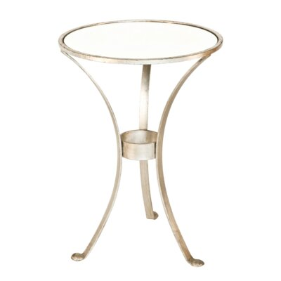 3 Leg End Table Finish: Silver