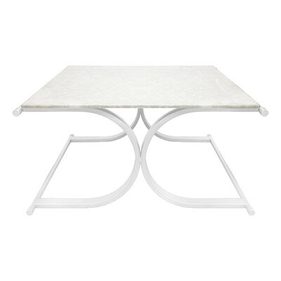 X Base Coffee Table Base Finish: Nickel