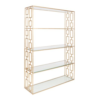 Etagere Bookcase Hammered Product Image 3133