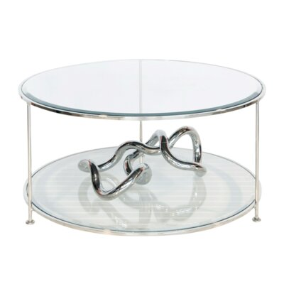 Coffee Table Color: Nickel Plated