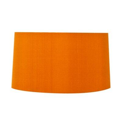 17 Silk Drum Lamp Shade Color: Rust