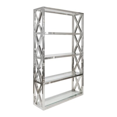 Crosshatch Etagere Bookcase Product Image 437