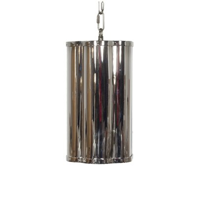 Clover 1-Light Mini Pendant Finish: Nickel