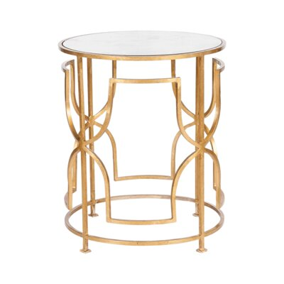 End Table Finish: Gold Leaf