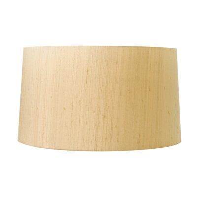 15 Silk Drum Lamp Shade Color: Khaki