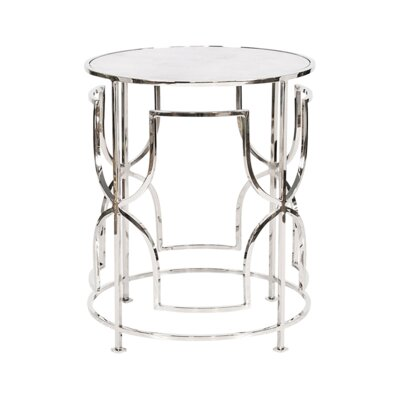 End Table Finish: Nickel Plated