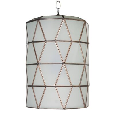 Faceted 1-Light Mini Pendant Finish: Frosted