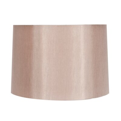 15 Faux Suede Drum Lamp Shade