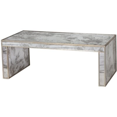Coffee Table Color: Champagne Silver