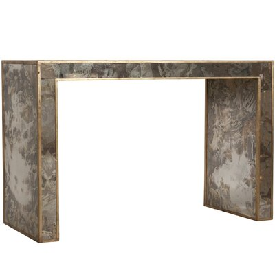 Reverse Console Table Finish: Gold