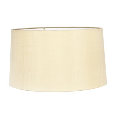 15 Silk Drum Lamp Shade Color: Butter