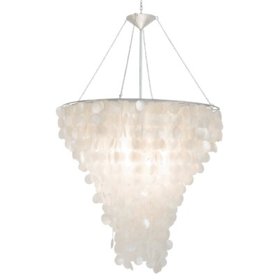 Shell 2-Light Crystal Chandelier