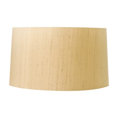 17 Silk Drum Lamp Shade Color: Khaki
