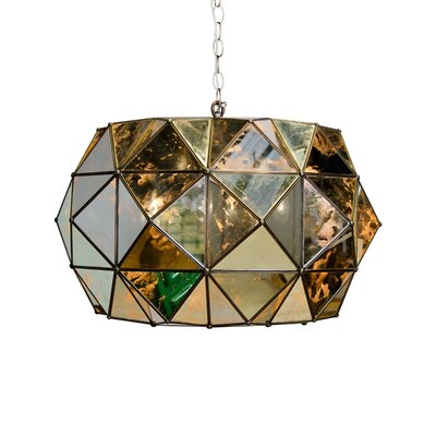 Faceted 3-Light Mini Pendant