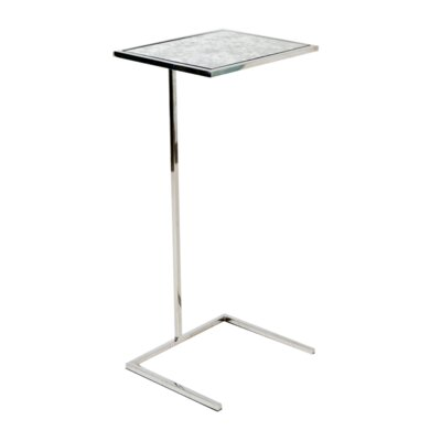 Cigar C Table Color: Nickel Plated