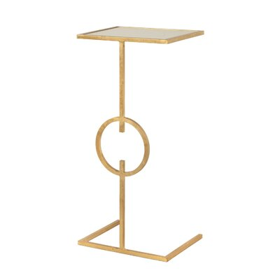 Cigar C Table Finish: Gold