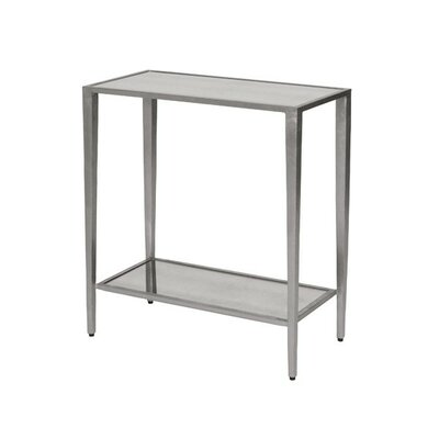2 Tier End Table Color: Silver