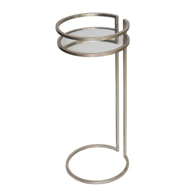 Cigar C End Table Color: Silver