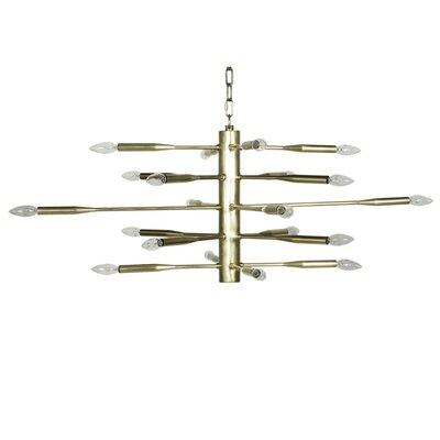20-Light Sputnik Chandelier Finish: Antique Brass