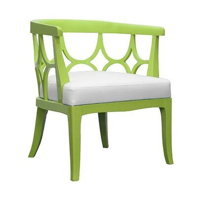 Lacquer Barrel Chair Finish: Lime Green