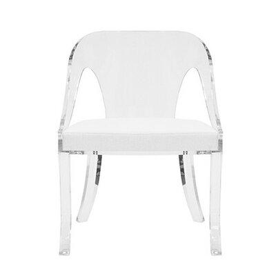 Round Acrylic Arm Chair