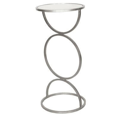 Cigar End Table Finish: Silver