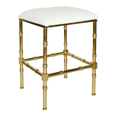 26 Bar Stool Base Color: Brass