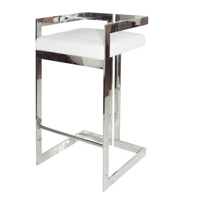 30 Bar Stool Base Color: Nickel