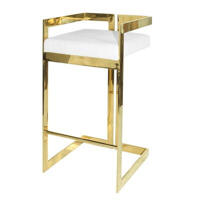 30 Bar Stool Base Color: Brass