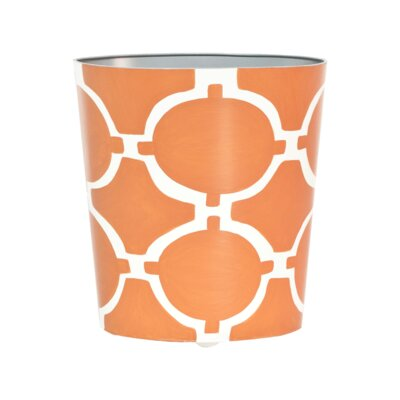 Waste Basket Color: Orange WBACADIAO
