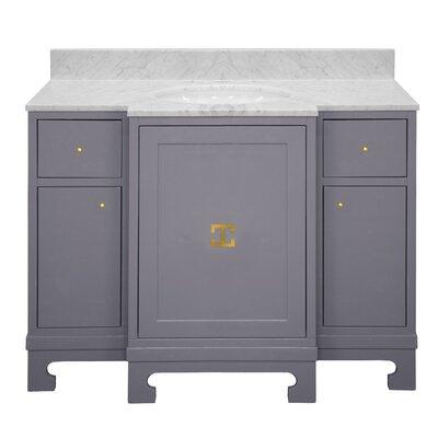 Alice 43 Single Bathroom Vanity Set Base Finish: Gray