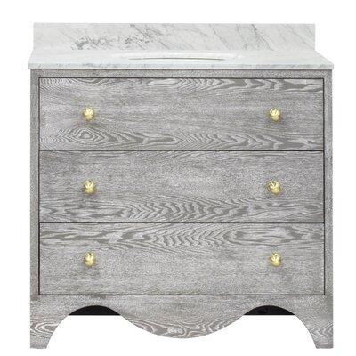 Betsy 36 Single Bathroom Vanity Set Base Finish: Gray Cerused Oak