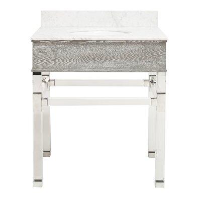 Chatham 31 Single Bathroom Vanity Set Top Finish: Gray Cerused Oak