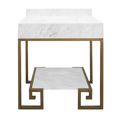 Fulton 31 Single Bathroom Vanity Set Base Finish: Bronze