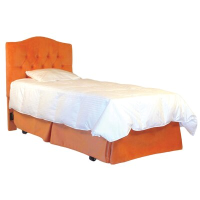 Twin Bed Skirt Color: Papaya