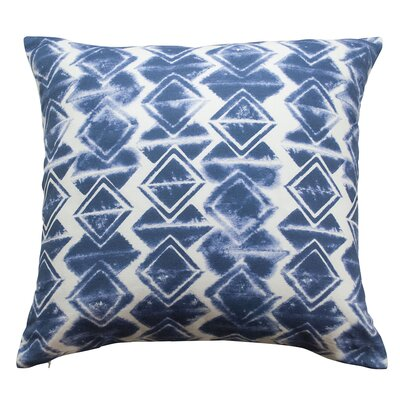 Wild Totem Throw Pillow Color: Indigo Blue