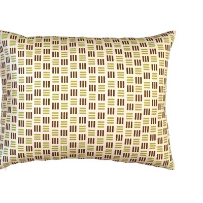 Triple Triad Lumbar Pillow Color: Chocolate Brown