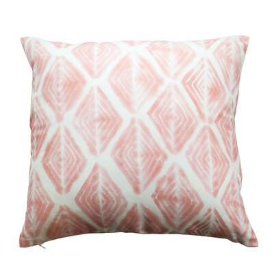 Diamond Eyes Throw Pillow Color: Soft Peach