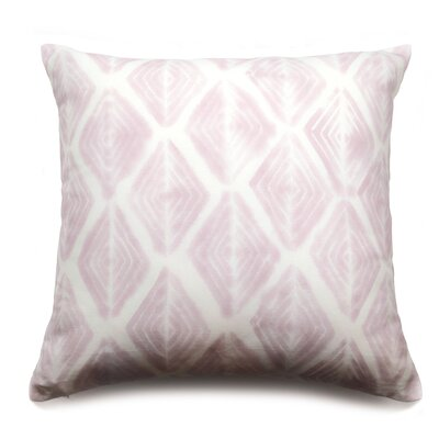 Diamond Eyes Throw Pillow Color: Dusty Rose