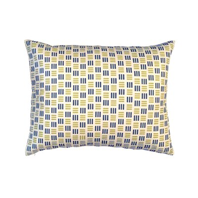 Triple Triad Lumbar Pillow Color: Indigo Blue/Olive