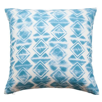 Wild Totem Throw Pillow Color: Cerulean Blue