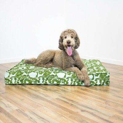 Gel Memory Foam Orthopedic Dog Bed with Waterproof Encasement Size: 5 H x 27 W x 36 D