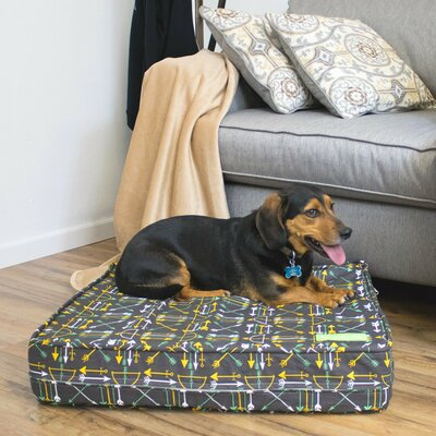 Charcoal 5 Thick Soft/Firm Reversible Gel Memory Foam Orthopedic Dog Bed Size: 5 H x 22 W x 27 D
