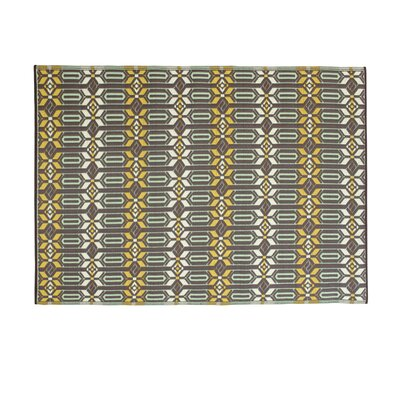 Tahnaout Gray Hand Woven Area Rug Rug Size: 5 X 8