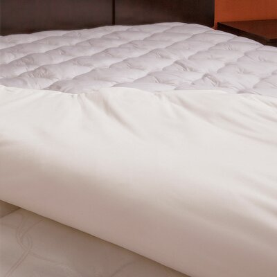 Ultra Soft Waterproof White Mattress Pad Size: Queen