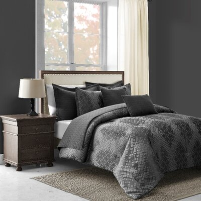 Bettina 5 Piece Comforter Set Size: Queen