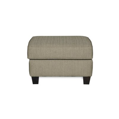 Corning Ottoman Upholstery: Essence Pewter