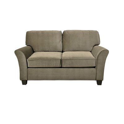 Parramore Standard Love Seat Upholstery: Caress Smoke