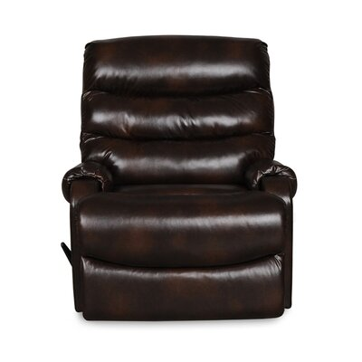Sidd Handle/Lever Rocker Recliner Upholstery: Chocolate
