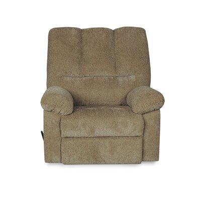 Juhi Handle/Lever Rocker Recliner Upholstery: Olive